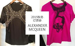 Alexander McQueen - 2015/16秋冬訂貨會