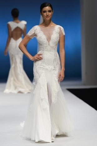 2015秋冬婚纱[Pallas Couture]纽约时装发布会