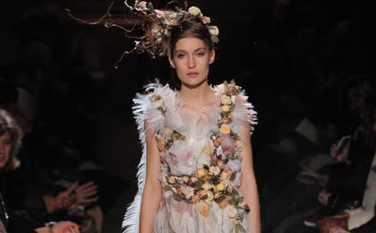 2015春夏高級定制[Franck Sorbier]巴黎時裝發布會