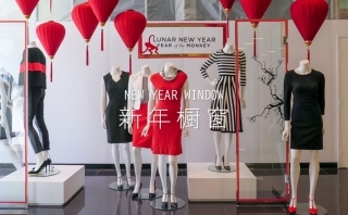 2016早春新年橱窗零售分析