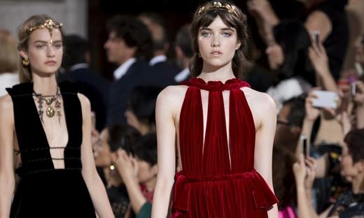 2015秋冬高級定制[Valentino]米蘭時裝發布會