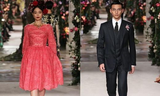 2017春夏高級定制[Dolce &Gabbana Alta Moda]東京時裝發布會