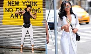 時髦而性感的異域風格-Chanel Iman
