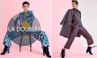 La DoubleJ - 华丽的印花(2018春游)