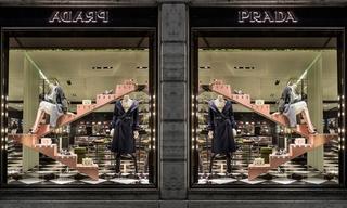 Prada圣诞橱窗 - 打造现代都市摩登童话