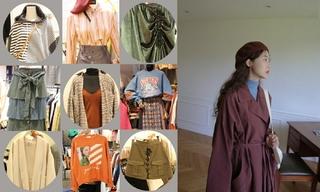 【韩国东大门】大衣|腰部曲线|针织氛围