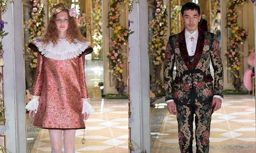 2018秋冬高級定制[Dolce & Gabbana]米蘭時裝發布會