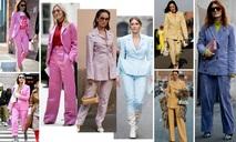 有彩色西裝套裝