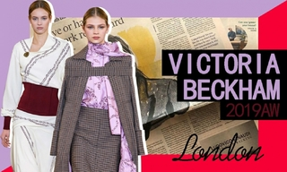 Victoria Beckham:在叙事的现代女性(2019秋冬)