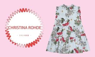 Christina Rohde-小仙女的花衣裳(2019春夏)