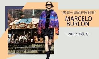 Marcelo Burlon - 废弃公园的狂欢时刻(2019/20秋冬)