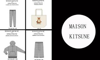 Maison Kitsune - 2020春夏订货会(10.28) - 2020春夏订货会