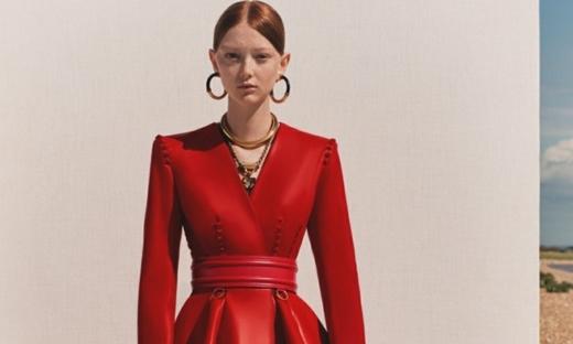 2020春游[Alexander McQueen]倫敦時裝發布會