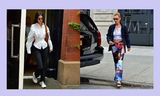 造型更新—Kendall Jenner&Bella Hadid