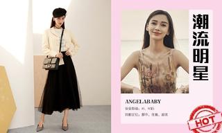造型更新—Angelababy