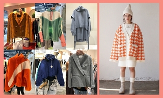 【韓國東大門】絎縫|針織|直筒