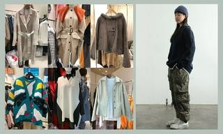 【韓國東大門】大衣 針織 領口