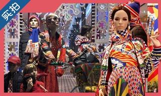 【独家实拍】Dolce&Gabbana 圣诞市集在米兰Corso Venezia 7精品店