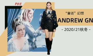 "Andrew Gn - ""童话""幻想(2020/21秋冬 预售款)"