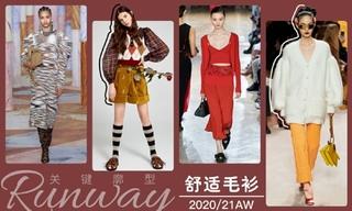 2020/21秋冬廓型:舒适毛衫