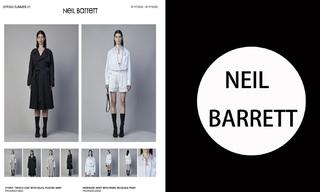 Neil Barrett-2021春夏订货会