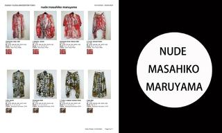 Nude Masahiko Maruyama-2021春夏订货会