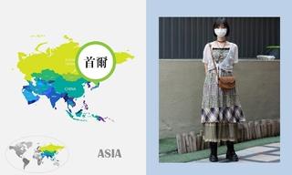 七月韩国时尚街拍