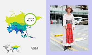 七月日本时尚街拍