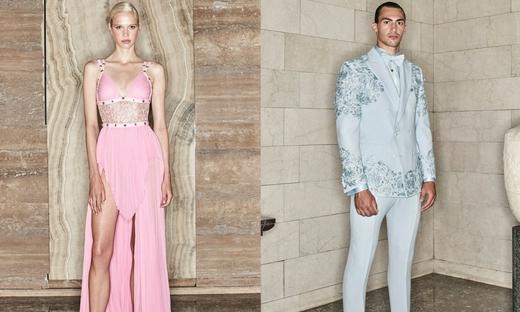 2020秋冬高級定制[Atelier Versace]巴黎時裝發布會