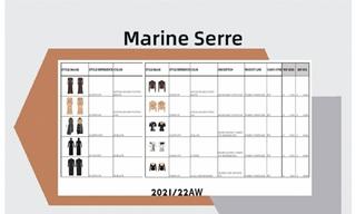 Marine Serre - 2021/22秋冬订货会